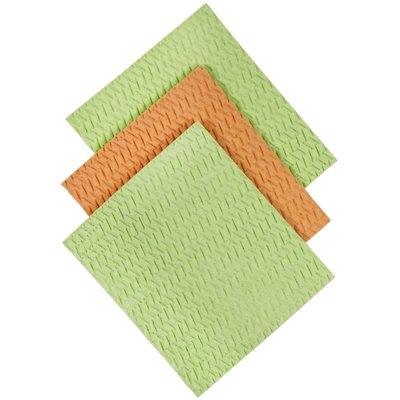 Casabella Sponge Cloths, Blue/Green Assorted