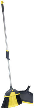Casabella Size Wize Duster Broom w/ Dustpan