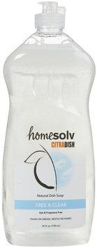 CitraSolv Homesolv Citradish Natural Dish Soap Free & Clear - 25 fl oz - Vegan