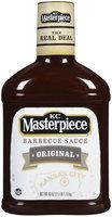 KC Masterpiece Original Barbecue Sauce, Original, 40 oz