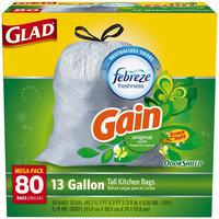 Tall Kitchen Drawstring 13 Gallon Trash Bags, Gain Original Scent 4 of 80CT
