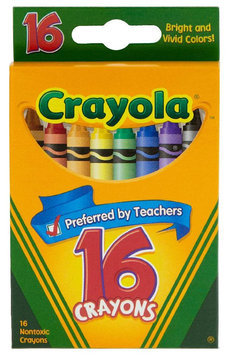 Crayola Classic Color Pack Crayons, 16 count