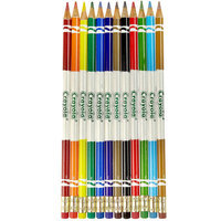 Crayola Erasable Colored Pencils, 12-Color Set