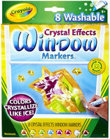 Crayola Store Window Markers with Crystal Effects