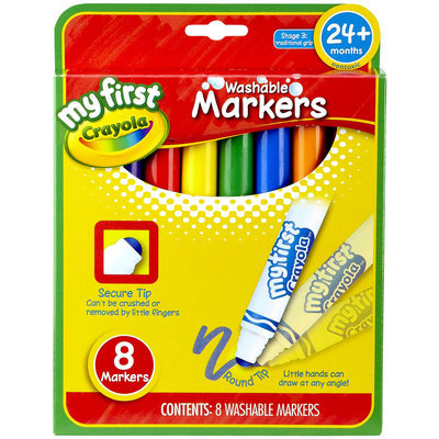 Crayola My First Crayola 8ct Broad Line Washable Markers
