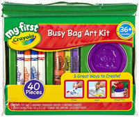 Crayola My First Busy Bag Art Kit