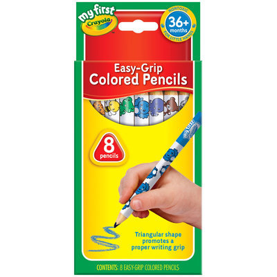 Crayola My First Crayola 8 ct. EZ Grip Colored Pencils