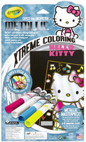 Crayola Metallic Xtreme Hello Kitty Coloring Pages & Markers