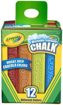 Crayola Washable Sidewalk Chalk 12 Ct