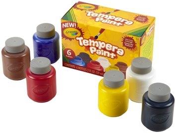 Crayola 2oz 6ct Tempera Paint Set