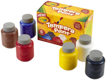 Crayola 2oz 6ct Tempera Paint Set