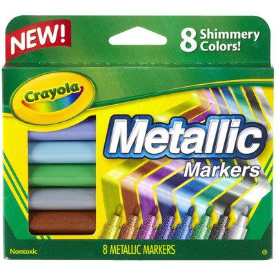 Crayola 8-pk. Metallic Markers