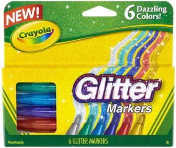 Crayola 6ct Glitter Markers