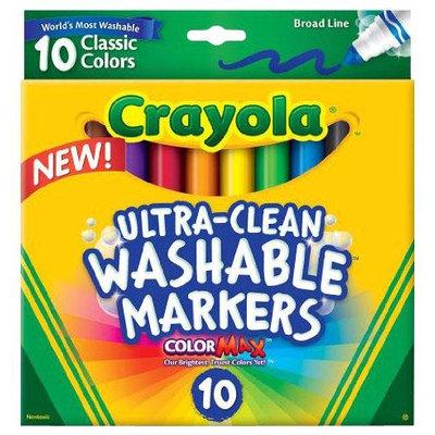 Crayola 10 Ct Ultraclean Broadline Classic
