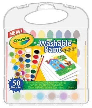Crayola Washable Paint n Paper Set
