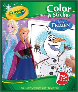 Crayola Disney Coloring & Sticker Book-Frozen