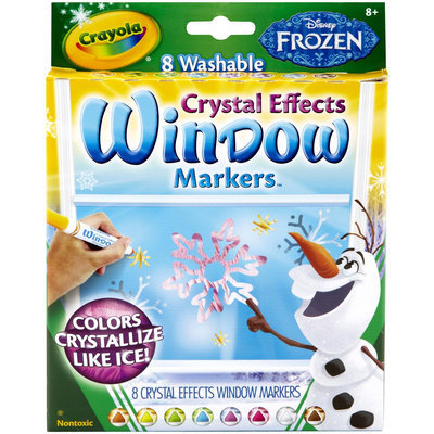 Crayola Frozen Crystal FX Window Markers - 1 ct.