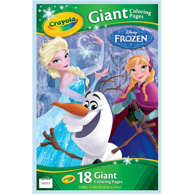 Crayola Frozen Giant Coloring Pages