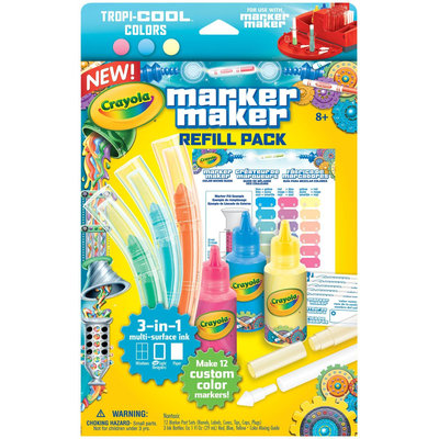 Crayola Marker Maker Refill, Pastel Colors - 1 ct.