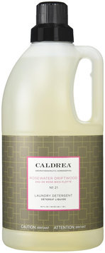 Caldrea - Laundry Detergent Rosewater Driftwood - 64 oz.