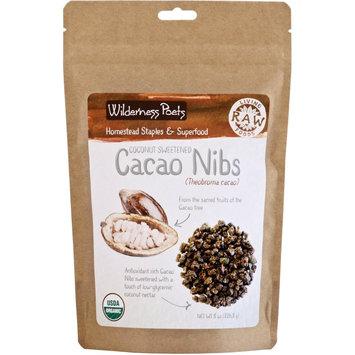 Wilderness Poets Coconut Sweetened Cacao Nibs - Organic & Raw
