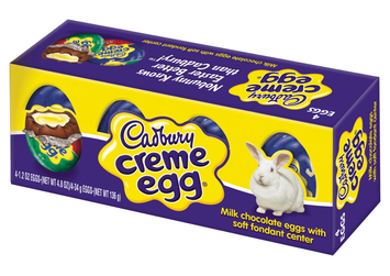 Cadbury Creme Milk Chocolate Egg