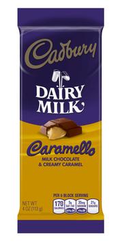 Cadbury Dairy Milk Caramello Milk Chocolate & Creamy Caramel