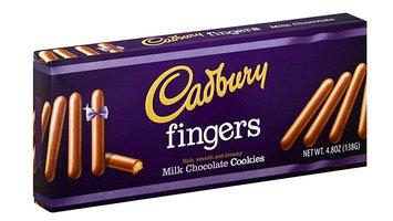 Cadbury Fingers Milk Chocolate Cookies