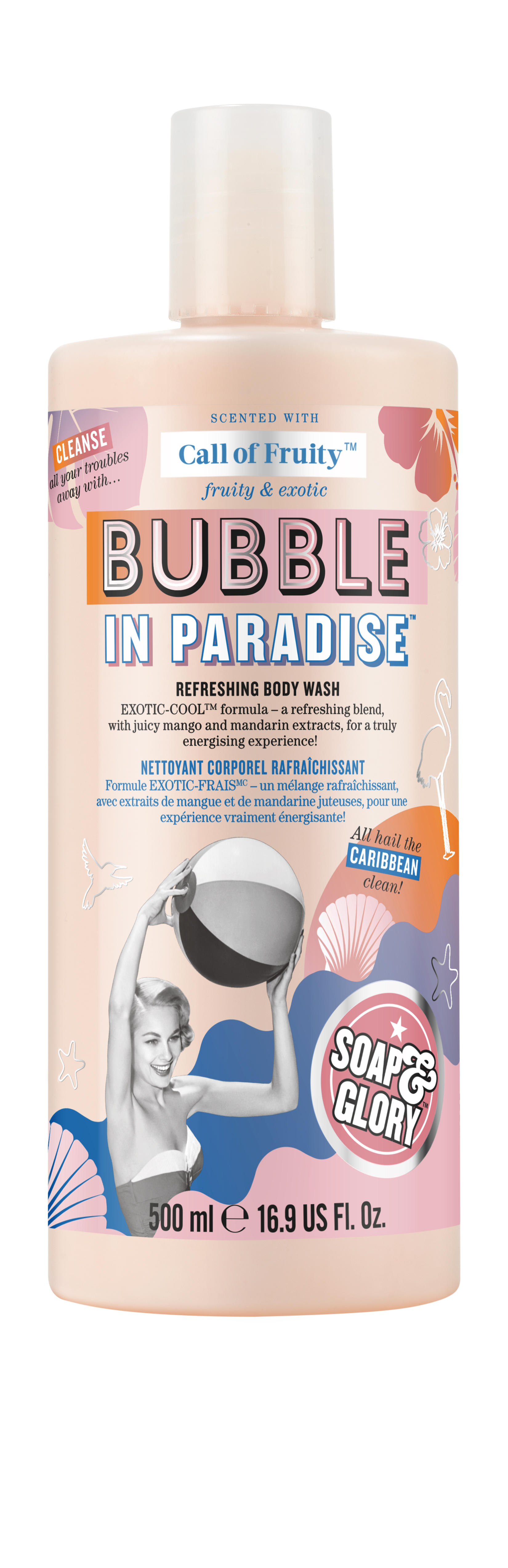 Soap & Glory Call of Fruity Bubble in Paradise Body Wash