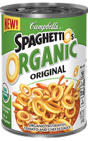 Campbell's SpaghettiOs Original Organic Pasta With Tomato and Cheese Sauce