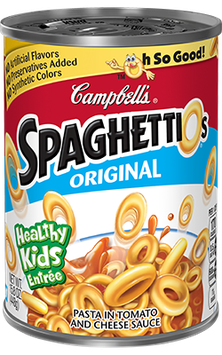 Campbell's SpaghettiOs Original Pasta in Tomato and Cheese Sauce