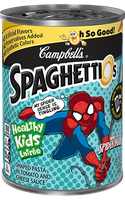 Campbell's SpaghettiOs Spider-Man Shaped Pasta in Tomato and Cheese Sauce