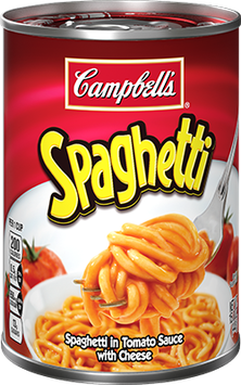 Campbell's SpaghettiOs in Tomato Sauce with Cheese