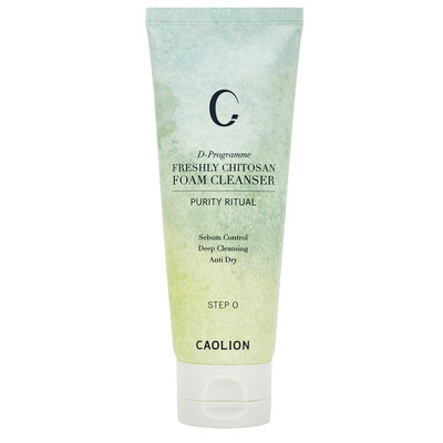 Caolion Freshly Chitosan Foam Cleanser STEP 0