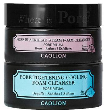 Caolion Hot & Cool Pore Foam Cleanser Duo
