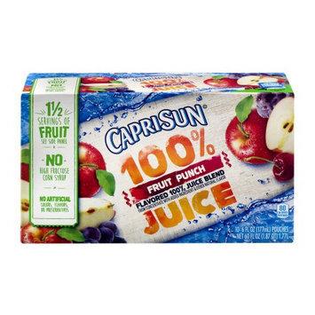 Capri Sun 100% Juice Fruit Punch