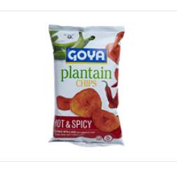 Goya® Plantain Chips – Hot & Spicy