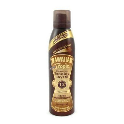 Hawaiian Tropic® Continuous Spray Protective Tanning Dry Oil SPF 12