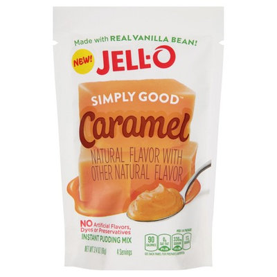 JELL-O Simply Good Caramel Instant Pudding Mix