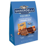 Ghirardelli Chocolate Squares Caramel Duo Premium Chocolate