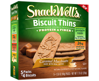 SnackWell's Caramel Macchiato Biscuit Thins