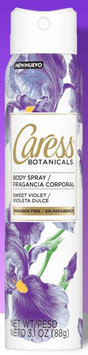 Caress Botanical Body Spray Sweet Violet