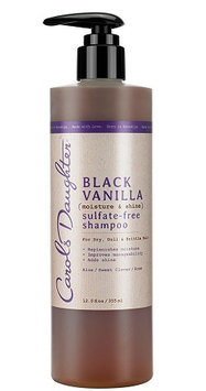 Carol's Daughter Black Vanilla Moisture & Shine Sulfate-free Shampoo For Dry Dull Or Brittle Hair