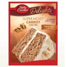 Betty Crocker™ Super Moist™ Delights Carrot Cake Mix