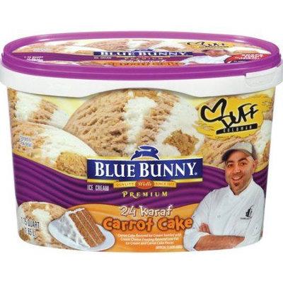 Blue Bunny Premium Ice Cream 24 Karat Carrot Cake