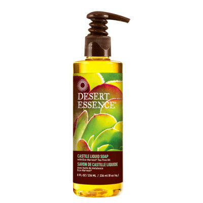 Desert Essence Castile Liquid Soap