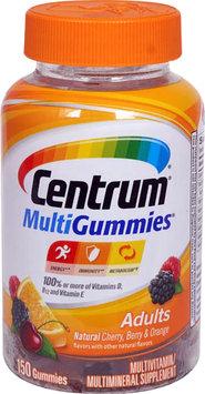 Centrum® MultiGummies Adults Natural Cherry, Berry & Orange Gummies