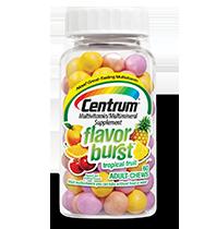 Centrum® Flavor Burst® Chews Tropical Fruit