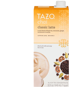 Tazo Chai Classic Latte Black Tea