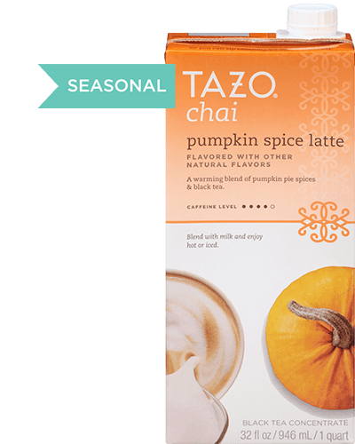 Tazo Chai Pumpkin Spice Latte Black Tea